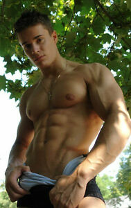 boy Sexy chest muscle