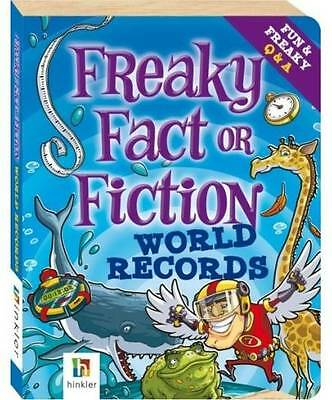 """""""AS NEW"""" Freaky Fact or Fiction: World Records, Dianne Bates, Book"""