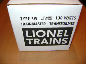 Lionel-Type-SW-130-Watts-Licensed-Transformer-Box