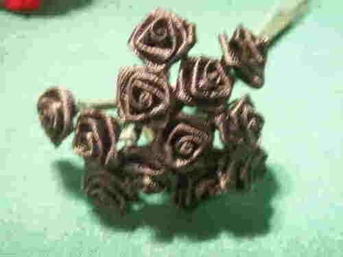 144 Silk MINI wrap roses wedding shower flower picks