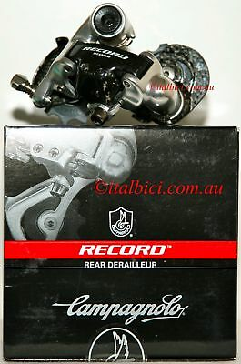 1 x Campagnolo Record 10 S Short Cage (Std) Rear Derailleur Carbon-Ti Free Post