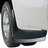DUALLY Husky Liners Molded Mud Guards/Flaps - Set of 2 Rear Guards