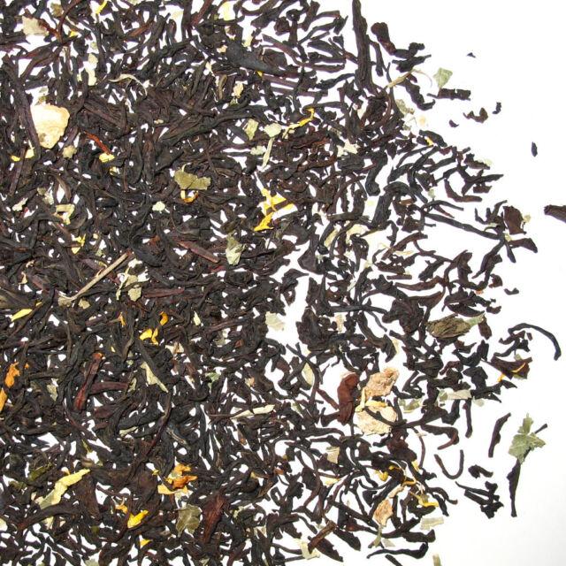 Green Hill Tea  Ginger Peach Natural flavored Black Loose Tea 4.00 OZ