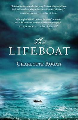 """VERY GOOD"" The Lifeboat, Rogan, Charlotte, Book"