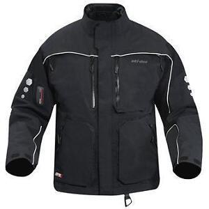 Ski-Doo-Highmark-Shell-BLACK-Snowmobile-Jacket-LARGE