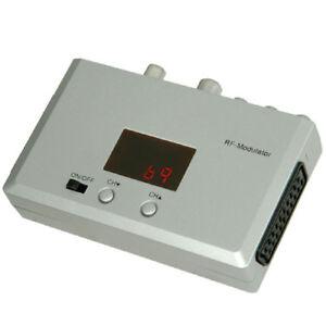 RF-Modulator-Convert-Scart-Phono-to-TV-Aerial-RF-Coax