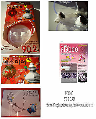 FI3000 Music Earplugs Hearing Protection Infrared SPECIAL ORDER BRILLIANTOV