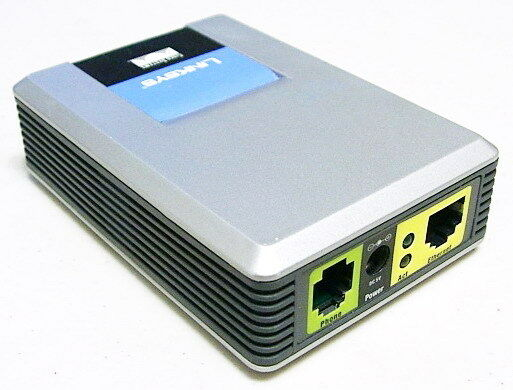 UNLOCKED Linksys SPA1001 FXS VoIP Phone Adapter