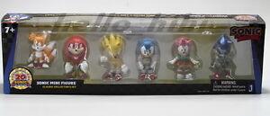 Sega Sonic the Hedgehog 20th anniversary collection pvc figure 6pcs