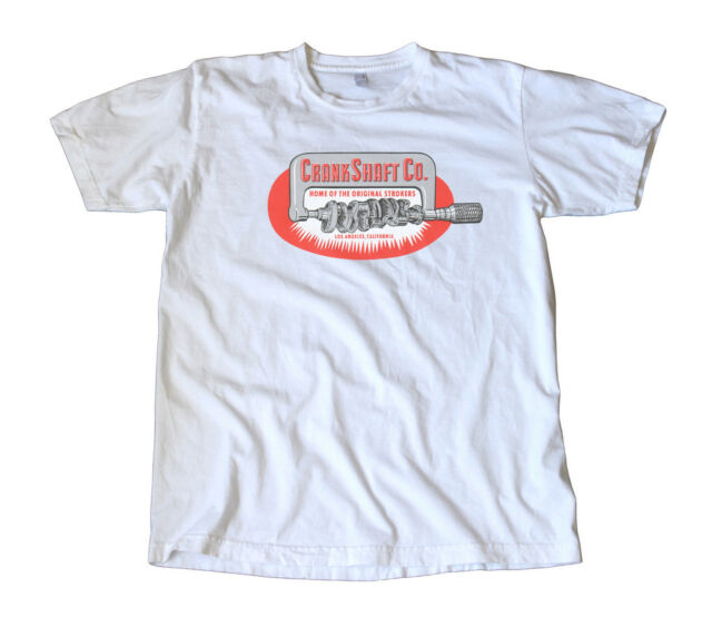 Vintage CrankShaft Company Decal T-Shirt - Hot Rod