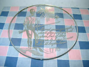 Silver-City-Glass-Sterling-Crystal-Plate-1776-Stand-Your-Ground
