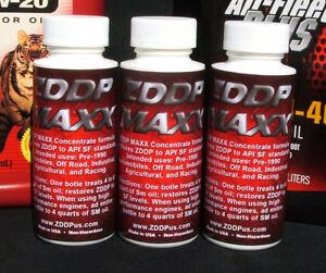 3 ZDDP MAXX ENGINE OIL ZDDP ADDITIVE ZINC & PHOSPHORUS