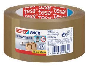 36-Rollen-TESA-4124-Packband-Ultra-strong-braun