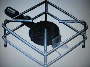 Fornello fornellone in ghisa a gas gpl 30x30 cm 4 5 kw ebay for Fornello a gas bruciatore in ghisa