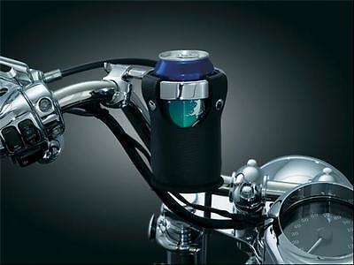 KURYANKYN UNIVERSAL DRINK RING W/ CARRIER BARS 1500 PERCH MOUNT HARLEY FLH