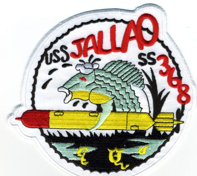 USS Jallao SS 368 Diesel Submarine Patch - Cat No. c6985