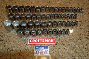 NEW-Craftsman-Tools-55-piece-3-8-inch-drive-socket-set