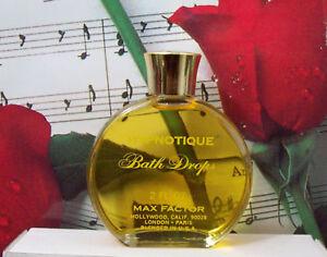 Hypnotique-Bath-Drops-2-0-Oz-By-Max-Factor-Vintage-UB
