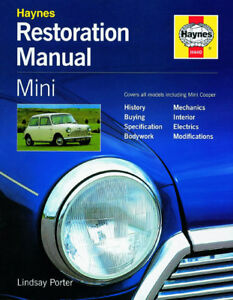 HAYNES WORKSHOP RESTORATION REPAIR MANUAL MINI COOPER