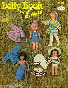 Knit Pattern Books For 18 Inch Doll Clothes : Doll Clothes Crochet Knitting Pattern Book To Fit 11 to 18 ...