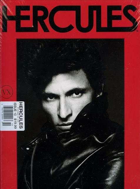 Hercules Magazine #10 FLORES Cover 4 ANDRES VELENCOSO