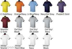 Champion-Sports-Mens-NEW-Size-S-M-L-XL-2XL-XXL-Tagless-RINGER-T-Shirts-14-Colors