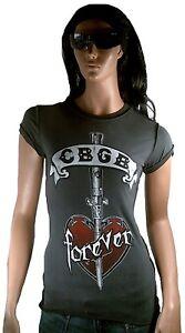 Andrea Caldo Cbgb Amplified Vip Tattoo Star Rock Vintage Gallo T shirt Ufficiale vq6wTv7