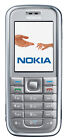 Nokia  6233 - Silber (T-Mobile) Handy