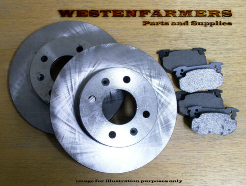 NISSAN GAZELLE S12 Disc Brake Rotor & Pad Pack