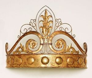 Antique-Gold-Crown-Teester-Bed-Crown