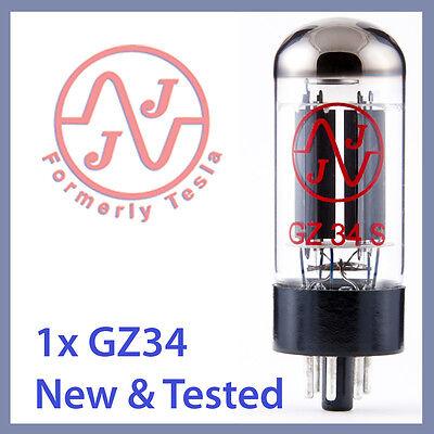 1x NEW JJ Tesla 5AR4 / GZ34 Vacuum Tube TESTED