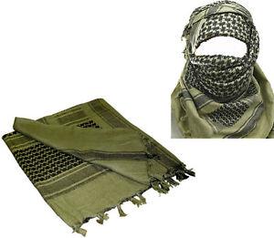 MILITARY-ARMY-ISSUE-O-D-SHEMAGH-SCARF-ARAB-SAS-RETRO