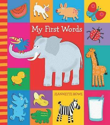 My First Words with Baby Boo by Jeanette Rowe (Board book, 2010)