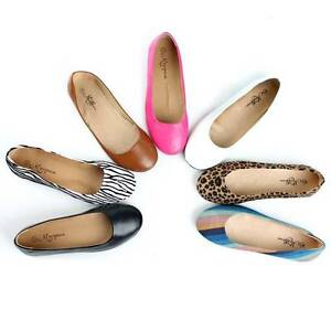 Casual-Slip-On-Shoes-Ladies-Dress-Pumps-Ballerina-Slippers-Womens-Ballet-Flats