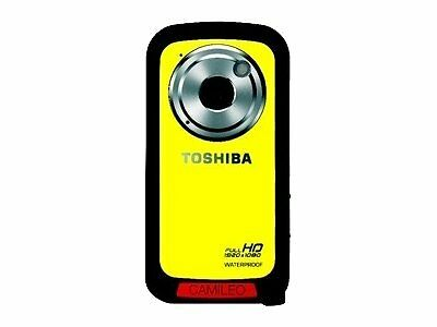 5,1 Cm Toshiba Camileo Bw10 Camcorder  Megapixel 2 Zoll 10-fach Digital Zoom