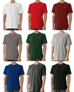 Nike-416152-Men-039-s-Swoosh-Tee-Classic-T-Shirt-Short-Sleeves-All-Color-All-Size