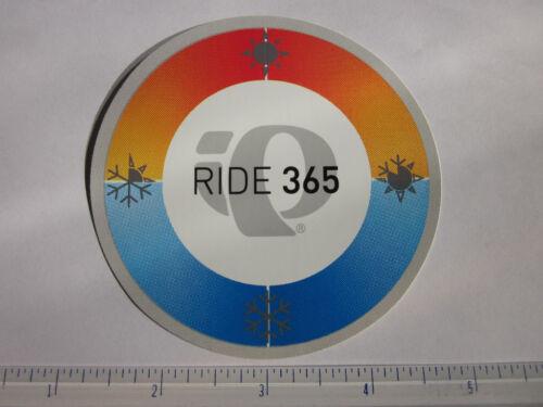3.5 PEARL IZUMI Black Logo Ride Mountain Road Mountain Bike Frame Sticker Decal