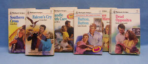 Lot-of-6-Harlequin-Intrigue-Books-Romance-Suspense-and-Adventure