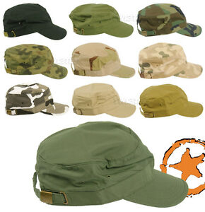 ARMY-MILITARY-TACTICAL-BASEBALL-FIELD-CAP-ADJUSTABLE-HAT-10-x-CAMO-PATTERNS