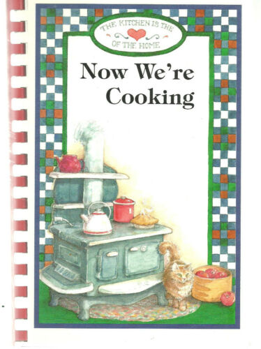MARINETTE WI 1998 NOW WE'RE COOKING COOK BOOK SHOPCO EMPLOYEES & FRIENDS