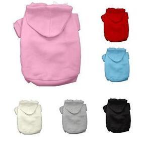 BASIC-HOODIE-Dog-Sweatshirt-Pullover-Shirt-Sweater-NEW