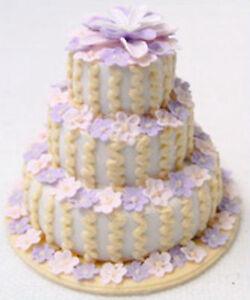 Three-Tier-Wedding-Cake-Dolls-House-Miniature-R