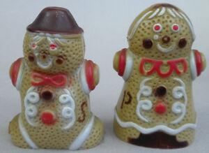 Salt-amp-Pepper-Gingerbread-Cookie-Man-Woman-Christmas-Plastic-Holiday ...