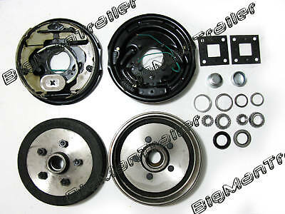 "10""  Electric Drum Brake a Kit Set Camper Trailer Parts"