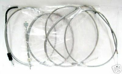 BRAND NEW HONDA C92 CA92 COMPLETE GREY CABLE SET
