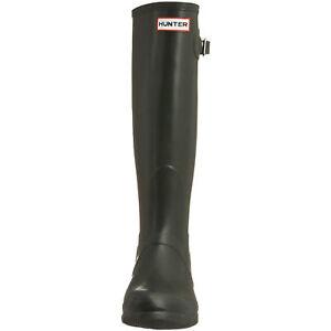 Hunter-Rain-Boot-Original-Vintage-MADE-IN-SCOTLAND-Classic-Tall-Black-11-12-44