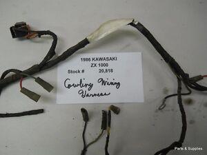 1986 kawasaki zx 1000 ninja cowling wiring harness ebay. Black Bedroom Furniture Sets. Home Design Ideas
