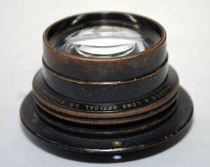 1903-Bausch-amp-Lomb-Zeiss-Tessar-5X7-Brass-Lens-Series-1-Large-Format-Camera
