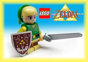 Custom-Lego-Zelda-Toon-Link-Phantom-Wind-Spirit-Minifig-toy