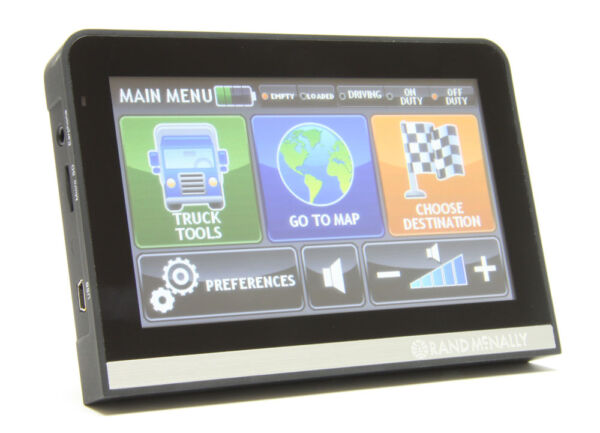 Rand Mcnally Gps >> Rand Mcnally IntelliRoute TND 510 Truck GPS | eBay